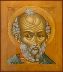 Николай чудотворец, архиепископ Мир Ликийских, святитель, икона (арт.06785)