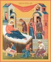 Рождество Пресвятой Богородицы, икона (арт.00679)