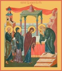Сретение Господне, икона (арт.00680)
