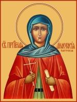Анастасия Патрикия, Александрийская, пустынница преподобная, икона (арт.06830)