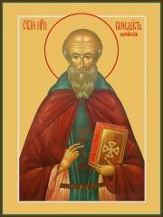 Венедикт Нурсийский преподобный, икона (арт.06894)