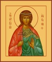 Анастасия (Романова) страстотерпица, царевна, икона (арт.06920)