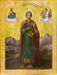 Пантелеимон великомученик и целитель, икона (арт.06992)
