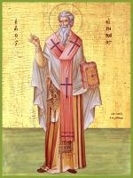 Ириней Лионский cвященномученик, икона (арт.00786)