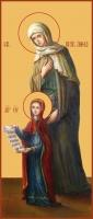 Анна, мать Пресвятой Богородицы, праведная, икона (арт.00881)